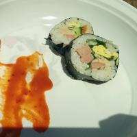 Non è sushi, è gimbpap coreano!