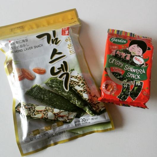 In un paio di stand mi hanno pure regalato le confezioni di alghe, a supporto di RuMi Mama… grazie Corea!